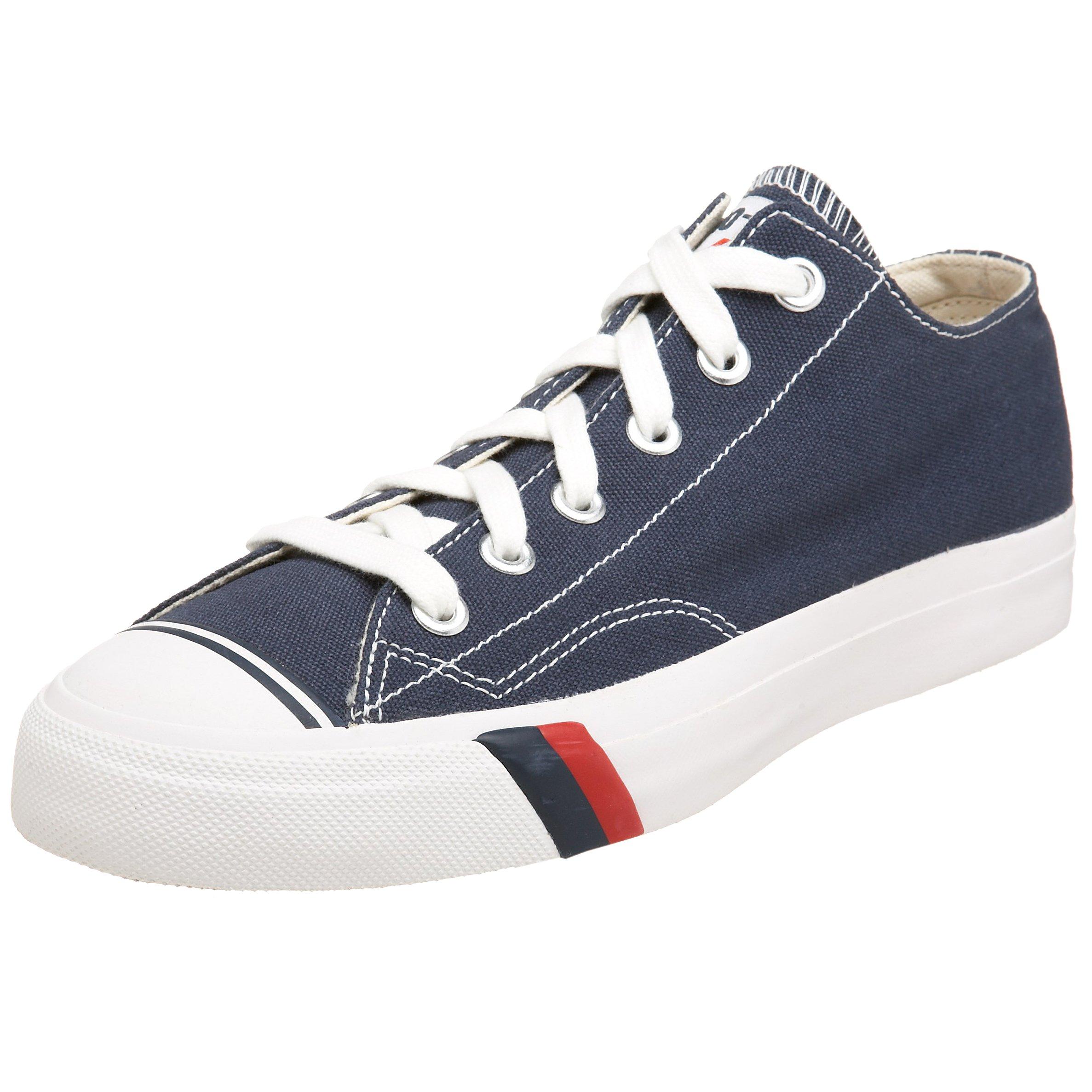 Pro-Keds Royal Lo Canvas Sneaker, Navy/White, 7 B(M) US Women/5.5 D(M) US Men