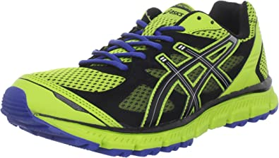 ASICS GEL-Scram Trail Zapatillas para correr para hombre, Verde ...