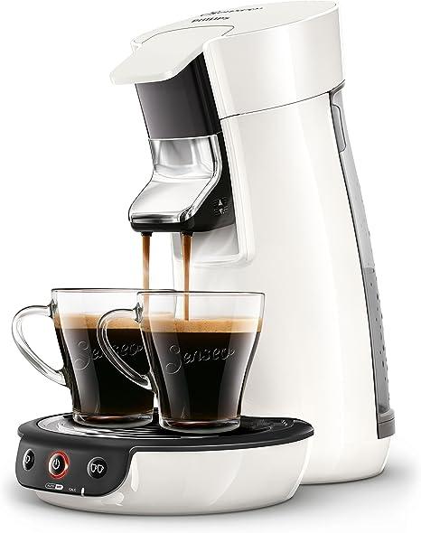 Senseo Viva Café HD7829/00 - Cafetera (Independiente, Máquina de café en cápsulas, 0,9 L, Dosis de café, 1450 W, Blanco): Amazon.es: Hogar