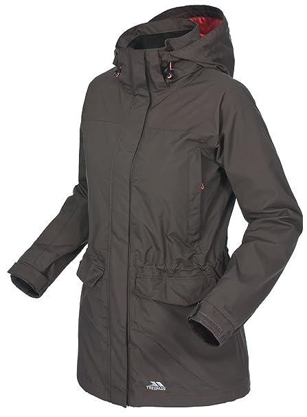 Trespass Leena, Wasserdichte Jacke mit Abnehmbarer Kapuze für Damen