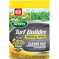 Deals on Scotts Turf Builder Weed and Feed 3 5,000 sq. ft.