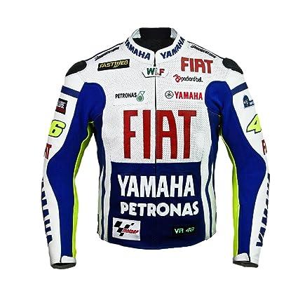 Rossi Yamaha Racing Chaqueta de cuero (L (EU52-54))