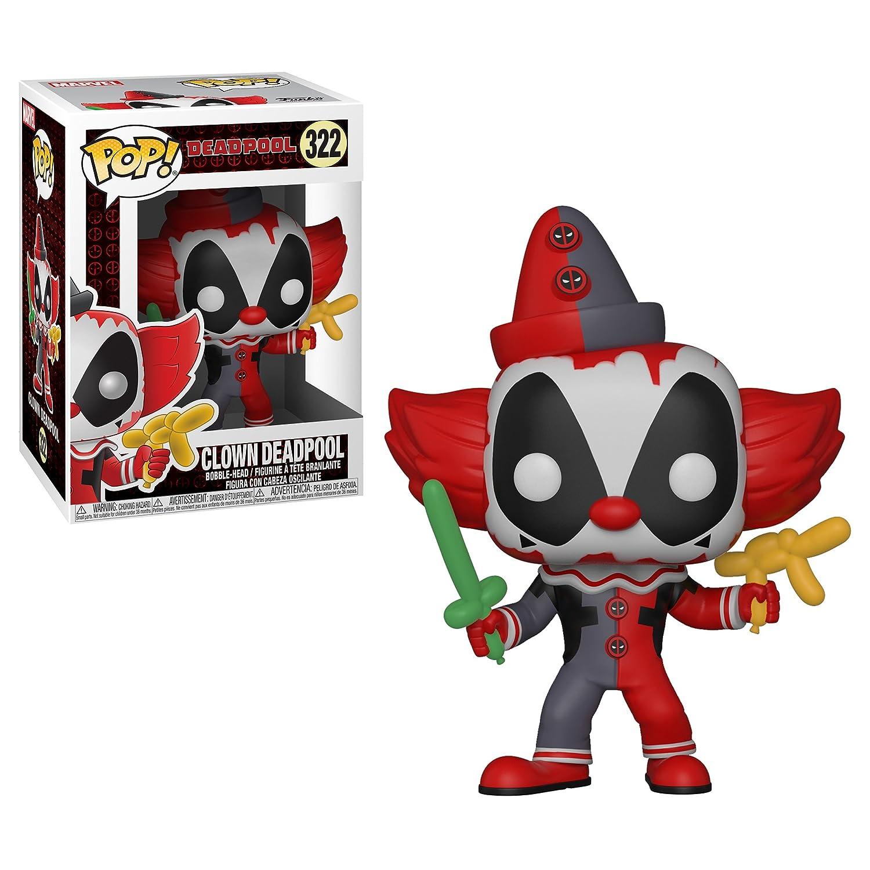 Funko 244  Marvel: Pop Deadpool in Robe Deadpool Clown Set Deadpool Playtime Collectors Deadpool Bob Ross