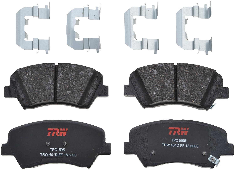 TRW TPC1595 Premium Ceramic Front Disc Brake Pad Set