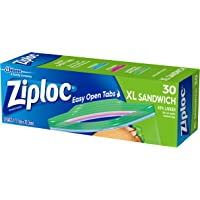 Ziploc XL Sandwich Bag, 30 count