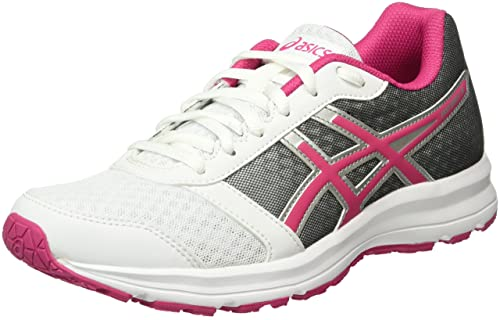 8836385b945b9 ASICS Patriot 8 W, Chaussures Femme, Multicolore (White Sport Pink Silver