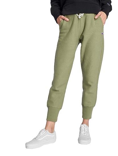 cb13b28e1651 Champion Women Sweat Pants Rib Cuff  Amazon.co.uk  Clothing