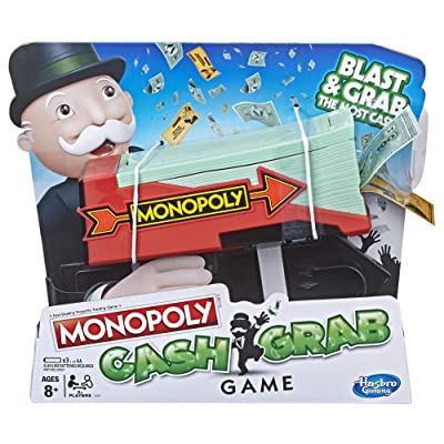 Monopoly Cash Grab Game: Toys & Games