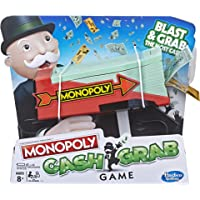 Monopoly Cash Grab Board Game, Ages 8+