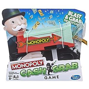 Monopoly Cash Grab Game, Brown