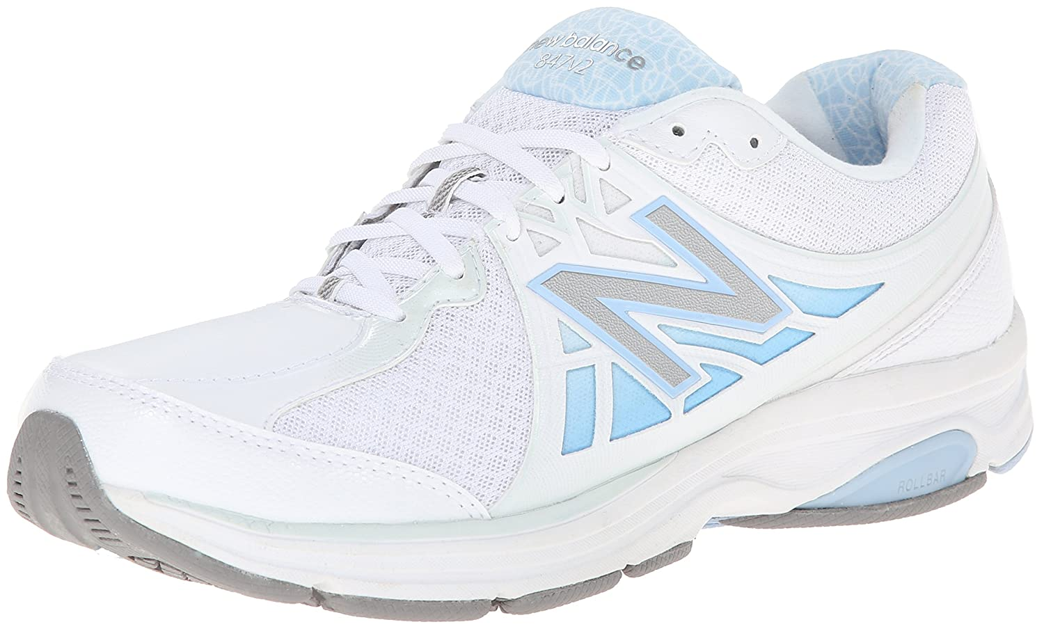 New Balance Women's WW847V2 Walking Shoe B00IY8WSE6 6 2A US|White
