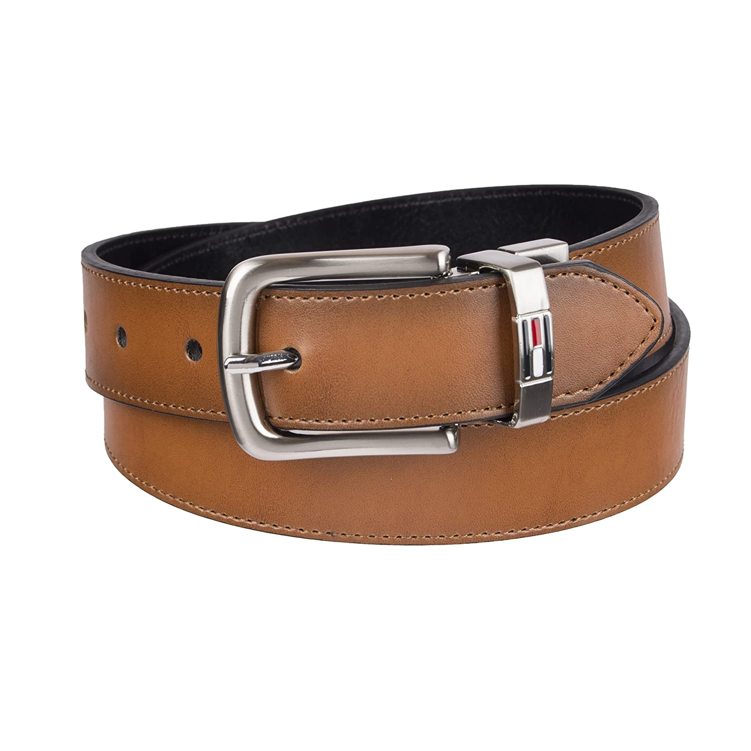 Nautica Big Boys Novelty Web Belt with Leather Loop and Tip