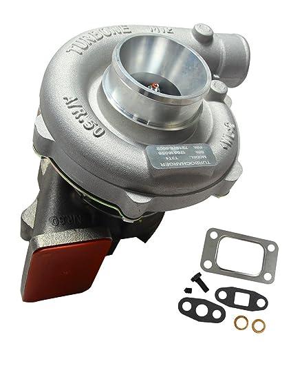 Amazon.com: BLACKHORSE-RACING Trim Turbo Turbocharger Compressor 400 + HP Boost Stage III T04E T3/T4 .63 A/R 57: Automotive