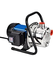 FLUENTPOWER 1 HP Portable Stainless Steel Lawn Sprinkling Pump for Garden Irrigation and Pressure booster