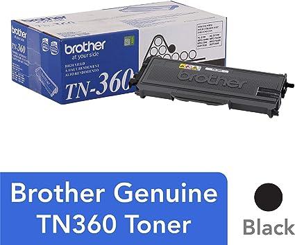 GENUINE OEM BROTHER TN360 TN-360 BLACK TONER SET 2-PACK