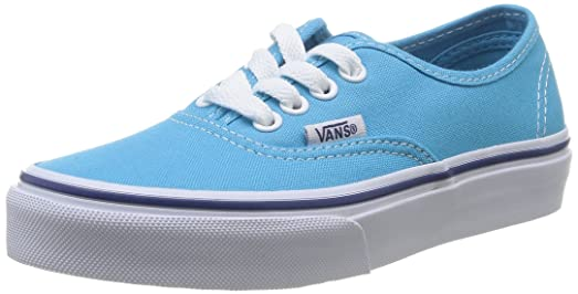Vans Kids Shoes Cyan Blue White