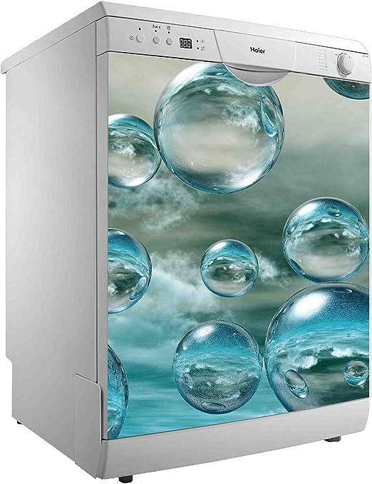 Vinilo para Lavavajillas Burbujas de Agua   Varias Medidas 50x48cm ...