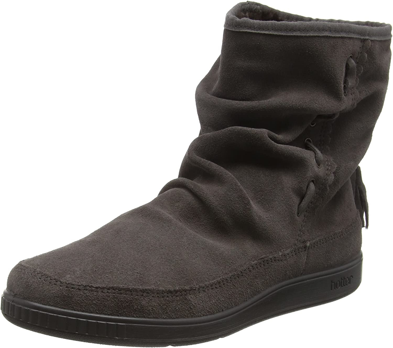 Hotter Pixie Womens Soft Suede Ankle