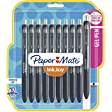 Paper Mate InkJoy Gel Pens, Fine Point, Black, 10 Count