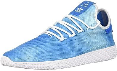 e28ba324b85b adidas Originals Men s PW Holi Tennis Hu Running Shoe Bright Blue White
