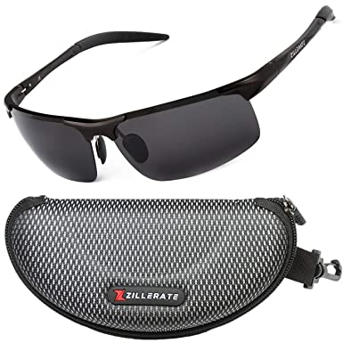 907d849357 Sunglasses Man Polarised Sunglasses for Men   Women by ZILLERATE ...