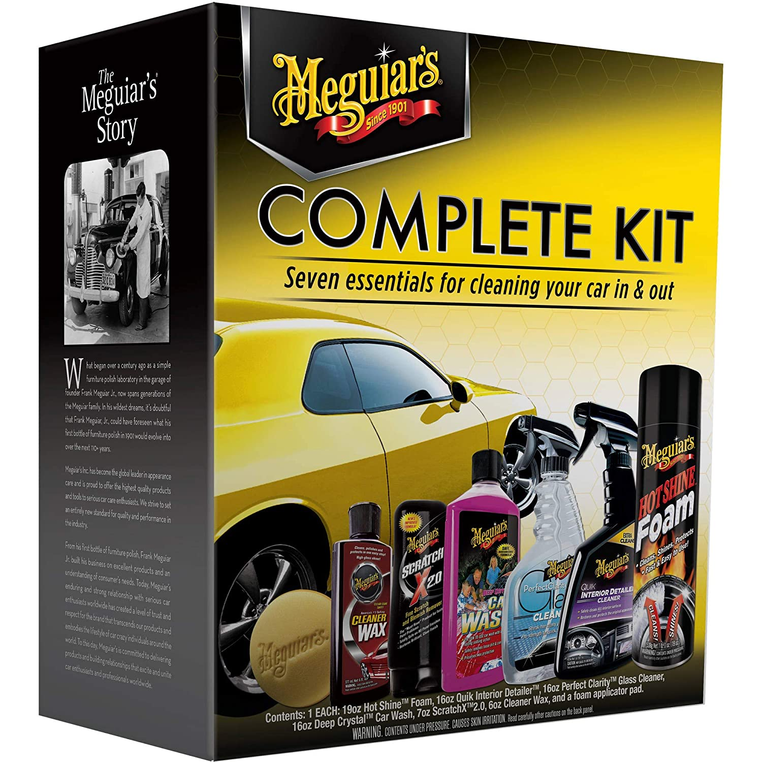 MEGUIARS WAX G19900 Complete Kit