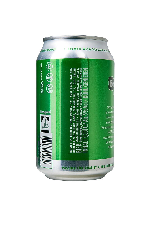 Heineken Lager Bier Dose Einweg 24 X 033 L Amazonde