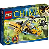 LEGO Legends Of Chima - Playthèmes - 70129 - Jeu De Construction - L'hélicoptère De Lavertus