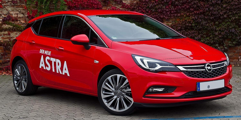 Alfombrillas para Astra K 2015-2019 de moqueta con talonera y Botones