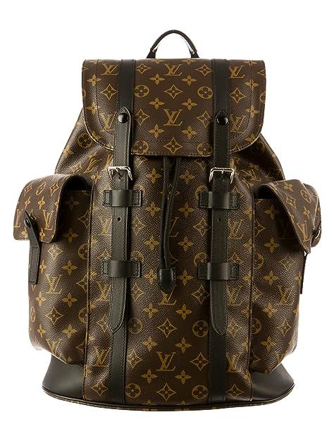 bc36c91e3908 LOUIS VUITTON Monogram Macassar Christopher PM Unisex Backpack M43735   Amazon.ca  Shoes   Handbags