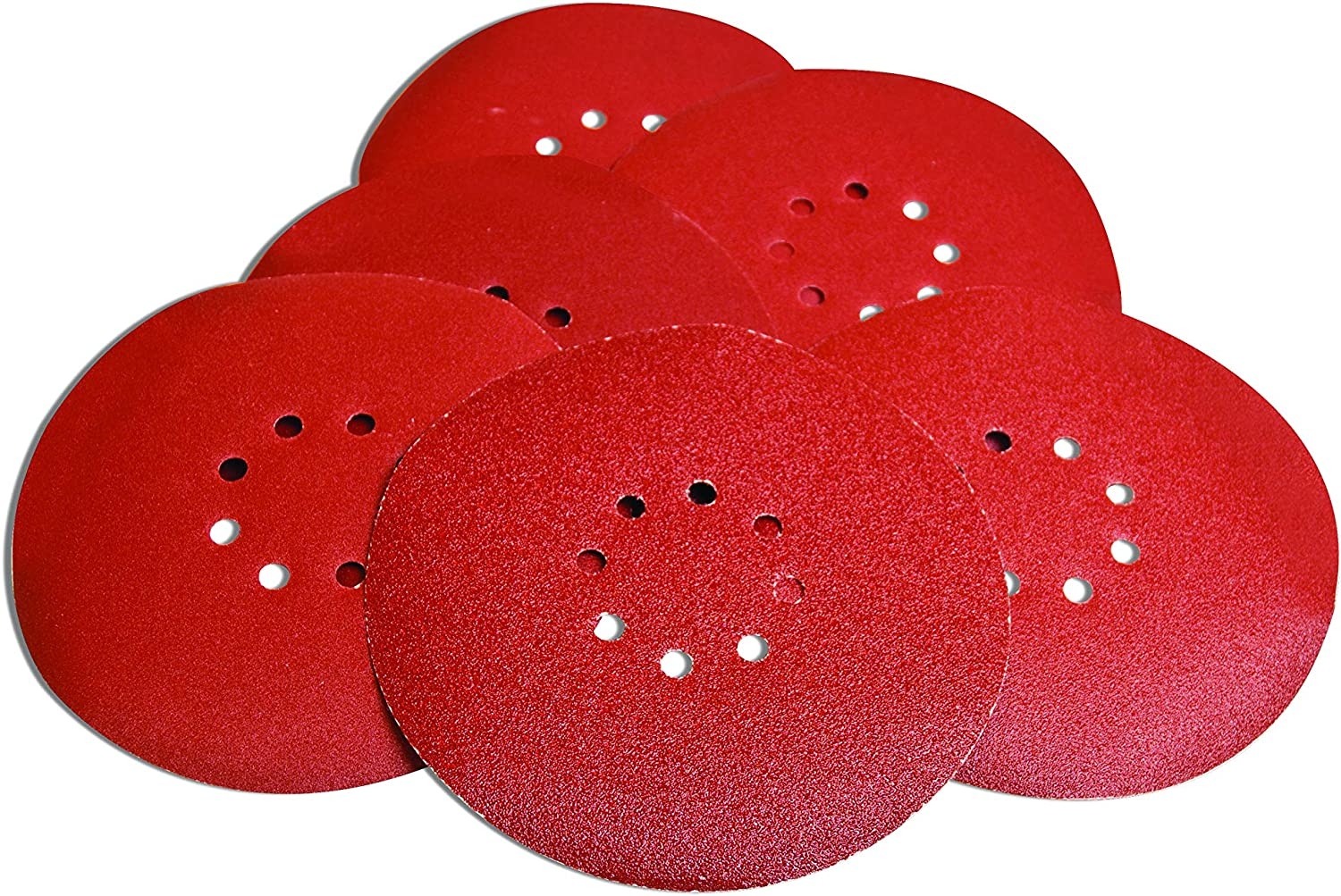 240 Grit Evolution Power Tools Telescopic Dry Wall Sander with Set of 6 Sanding Discs