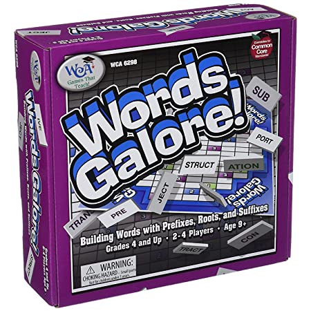 Amazon.com: WIEBE CARLSON ASSOCIATES WCA6298 - WORDS GALORE: Toys & Games