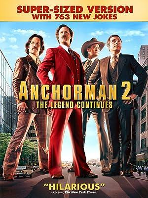 amazoncom watch anchorman 2 the legend continues super