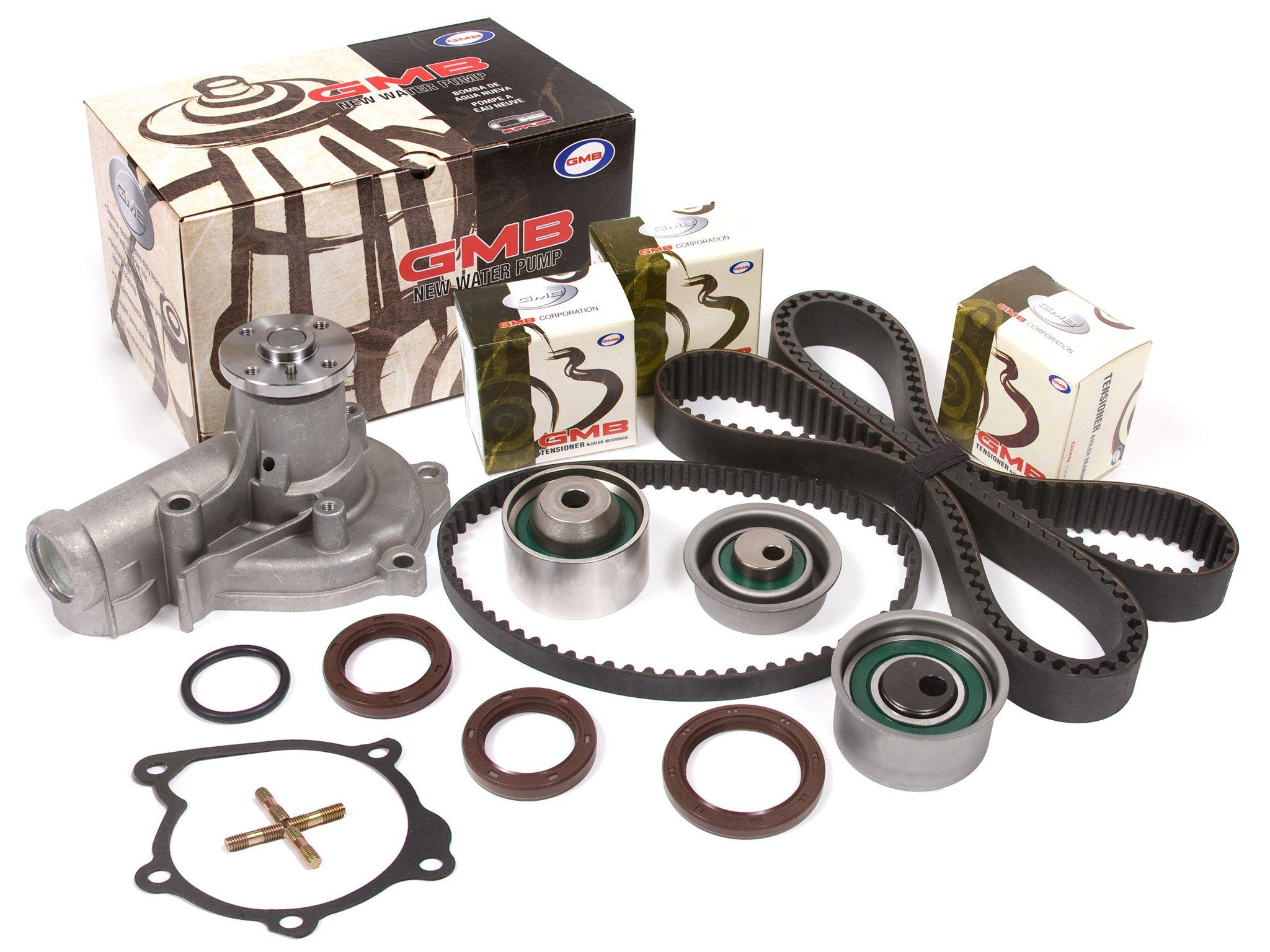 Evergreen TBK167VCT2 Fits 95-99 Mitsubishi Eclipse Eagle Talon Turbo 2.0 4G63T Timing Belt Kit Valve Cover Gasket Water Pump