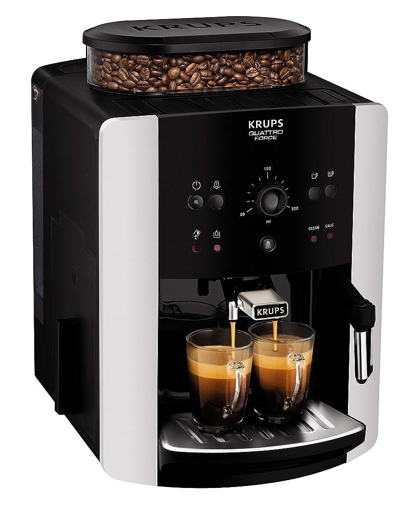 Krups EA8118 Independiente 1.6L Negro - Cafetera De Grano