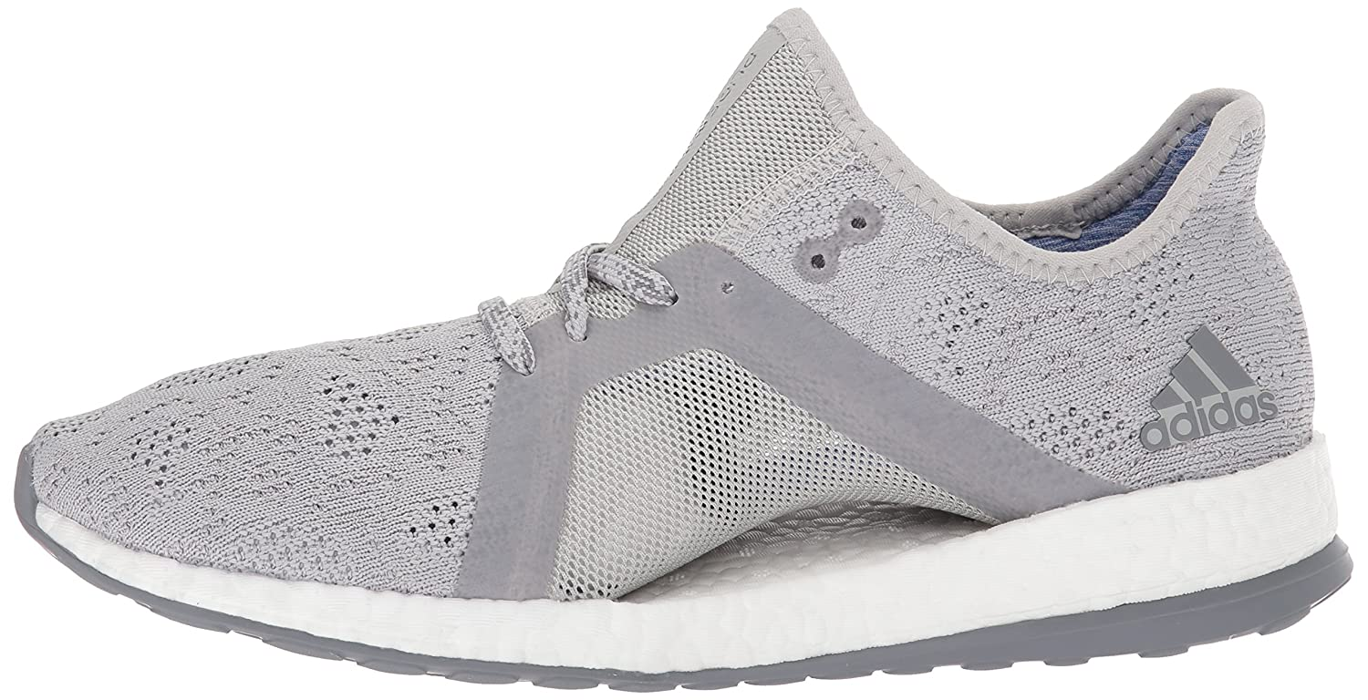 adidas Women's Pureboost X Element Running Shoe B0714BFS45 7.5 B(M) US|Grey Two/Grey Three/Blue