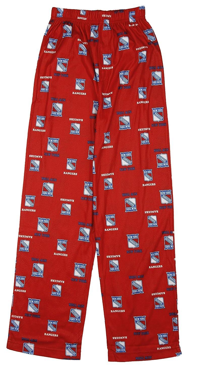 best website cc81f 35244 York Rangers NHL Big Boys All-Over Print Pajama Pants - Red