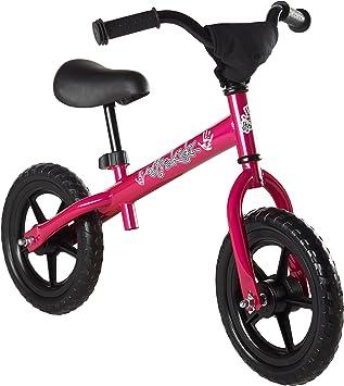 Ultrakidz - Bicicleta sin Pedales para niños a Partir de 85 cm de Estatura, Color Rosa: Amazon.es: Juguetes y juegos