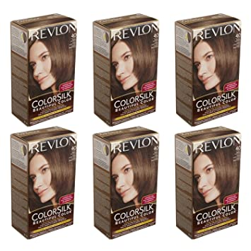 Amazoncom  Colorsilk  Revlon Haircolor Medium Ash Brown 40