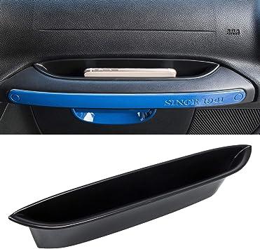 JOJOMARK for 2018 Jeep Wrangler JK JKU Accessories GrabTray Passenger Storage Tray Organizer Box for 2011-2018 Jeep Wrangler JK JKU