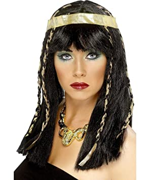 Smiffys Peluca egipcia para mujer