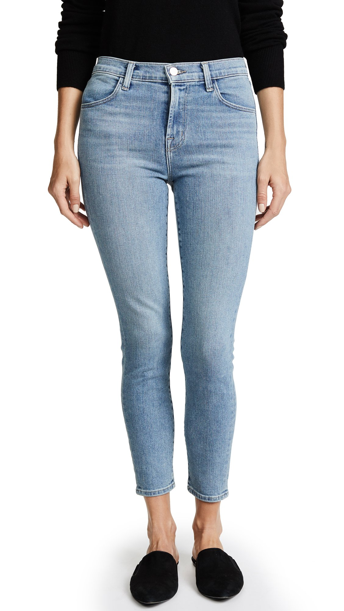 J Brand Women's Alana High Rise Crop Skinny Jeans, Surge, 30