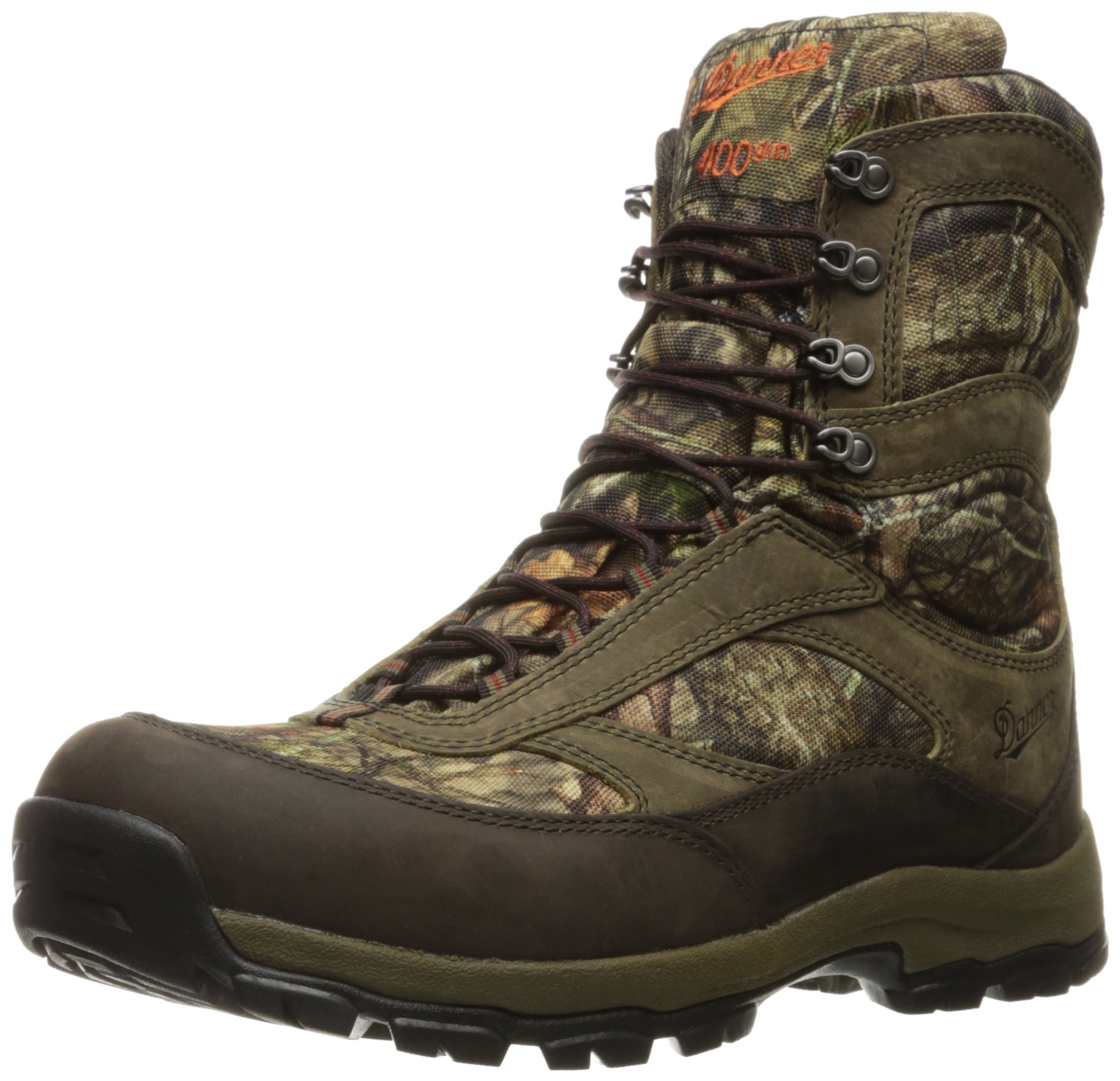 Danner Men's High Ground 8'' Hunting Shoes, Mossy Oak Break up Country, 8.5 2E US by Danner