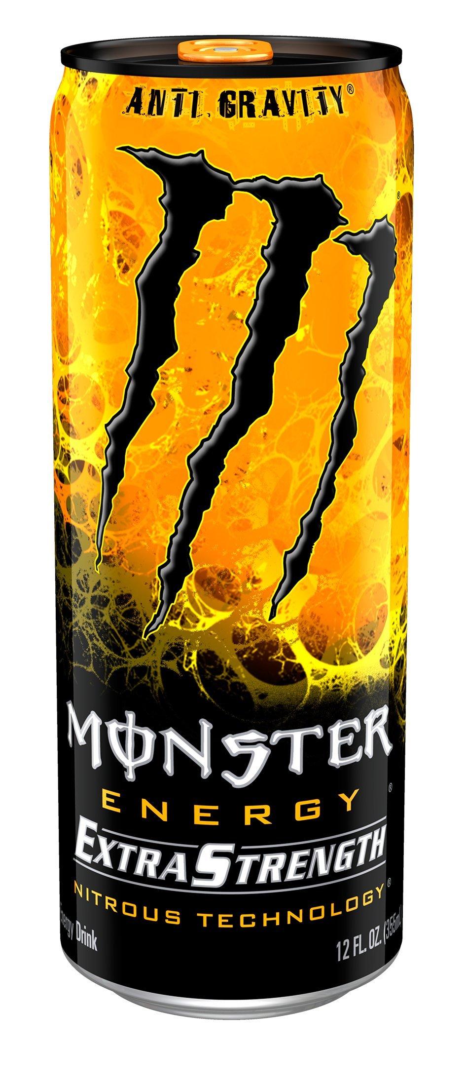 Amazon Com Monster Energy Extra Strength Super Dry 12