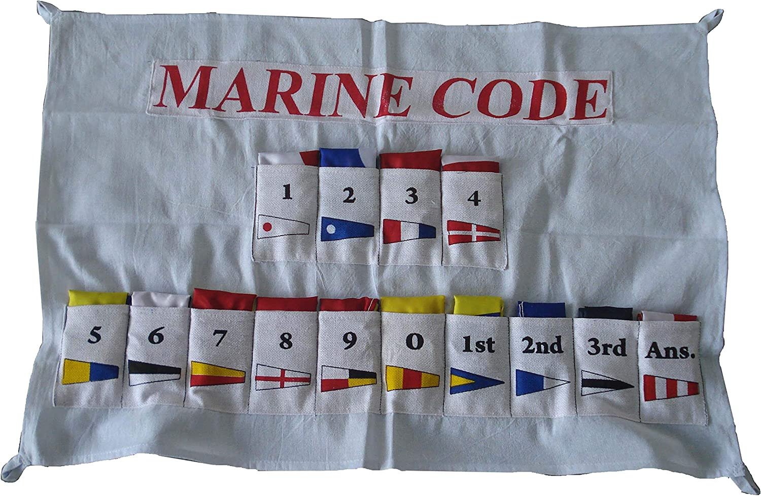 Complete Set Brass Blessing International Maritime Bunting Signal Flags Maritime//Marine//Boat//Yacht//Beach Party Nautical Decor