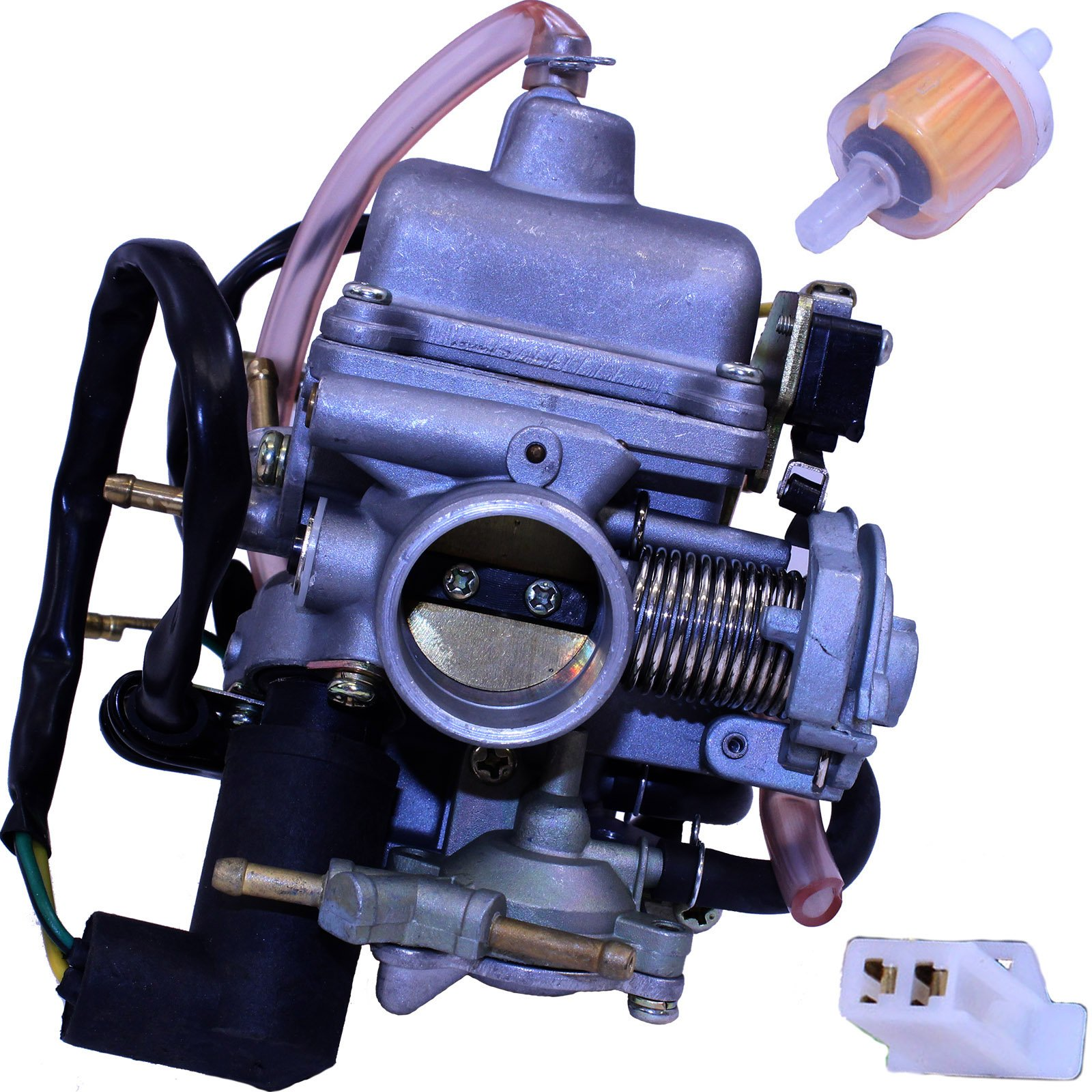 Carburetor for GY6 Vento Phantom R4i 125, 150 Scooters Honda OEM 16100-KJ9-673