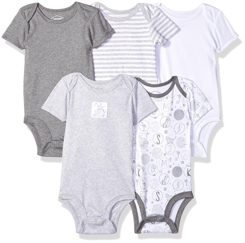 Amazon Lamaze Baby Organic Essentials 5 Pack Shortsleeve