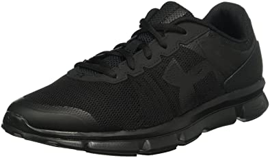 under armour trainers. under armour men`s micro g speed swift running shoes, 7, black/ trainers r