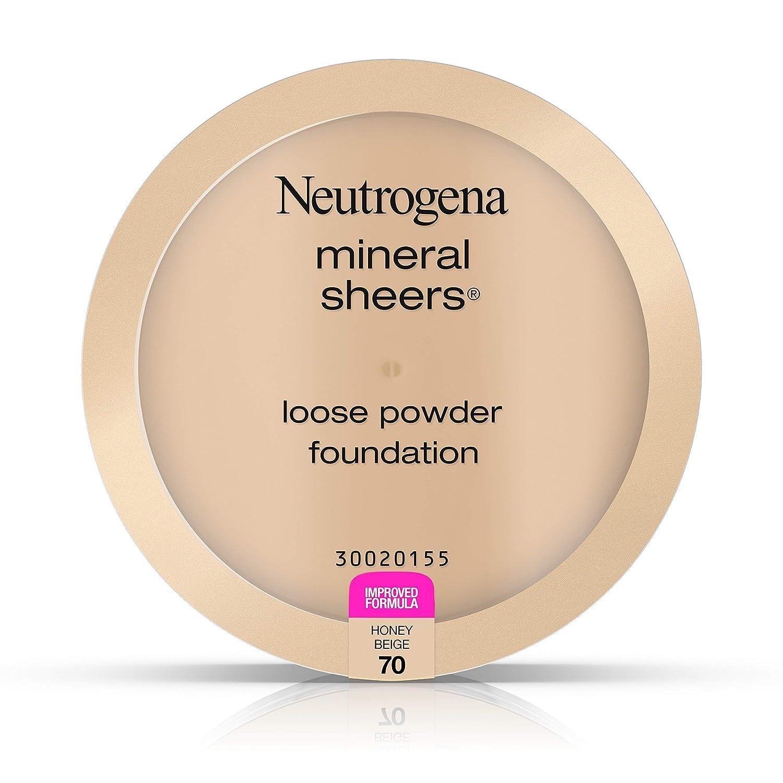 Neutrogena Mineral Sheers Loose Powder Foundation, Honey Beige 70,.19 Oz.