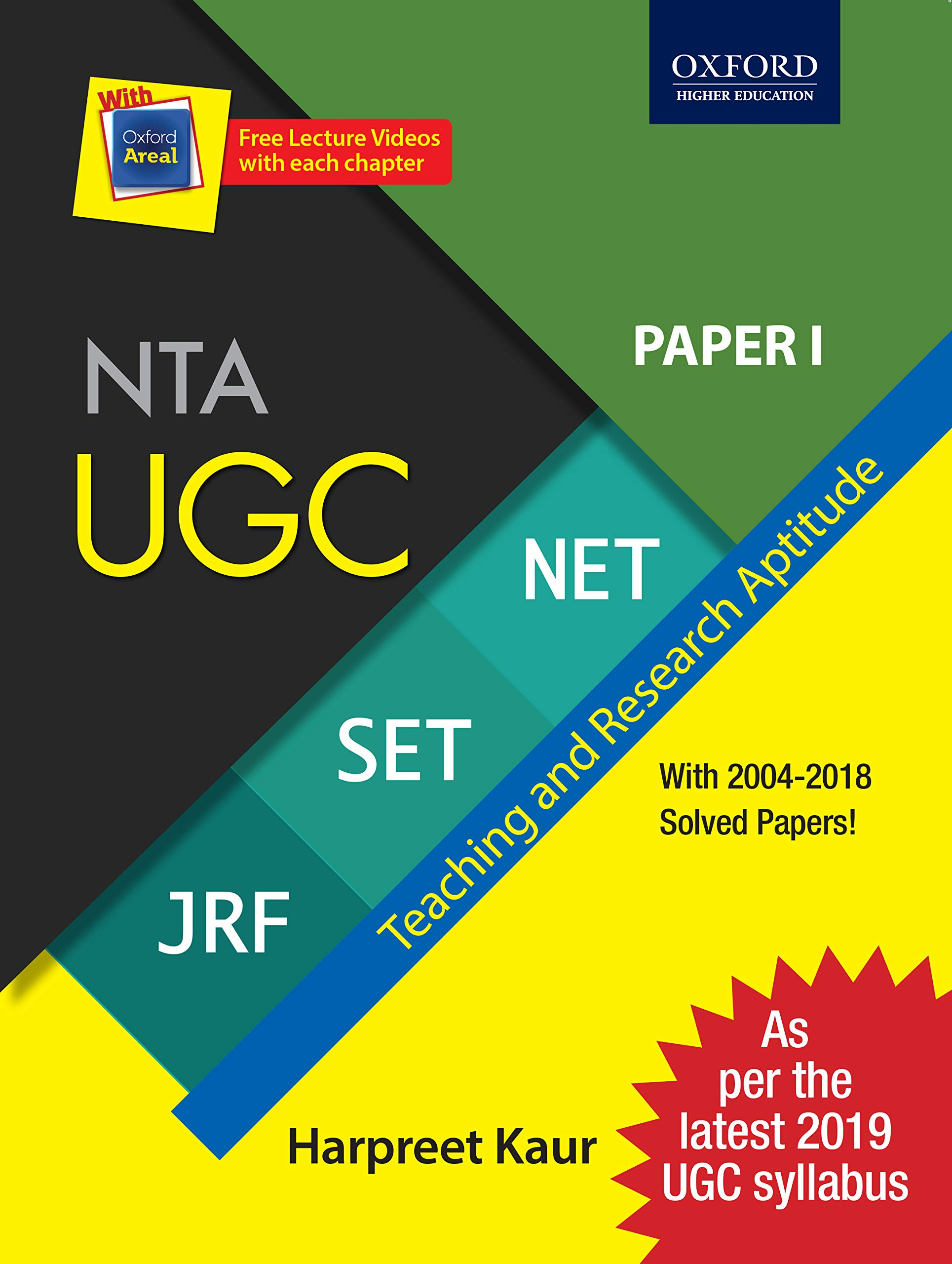 Buy 2019 Latest Syllabus - NTA UGC NET / SET / JRF - Paper 1